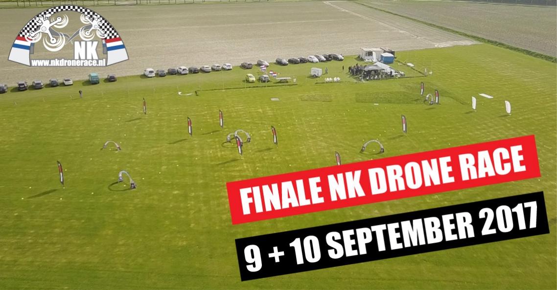 Finale NK Drone Race op 9 en 10 september 2017