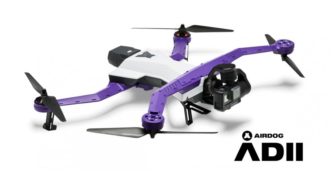 Airdog ADII auto-follow drone nu beschikbaar via Kickstarter