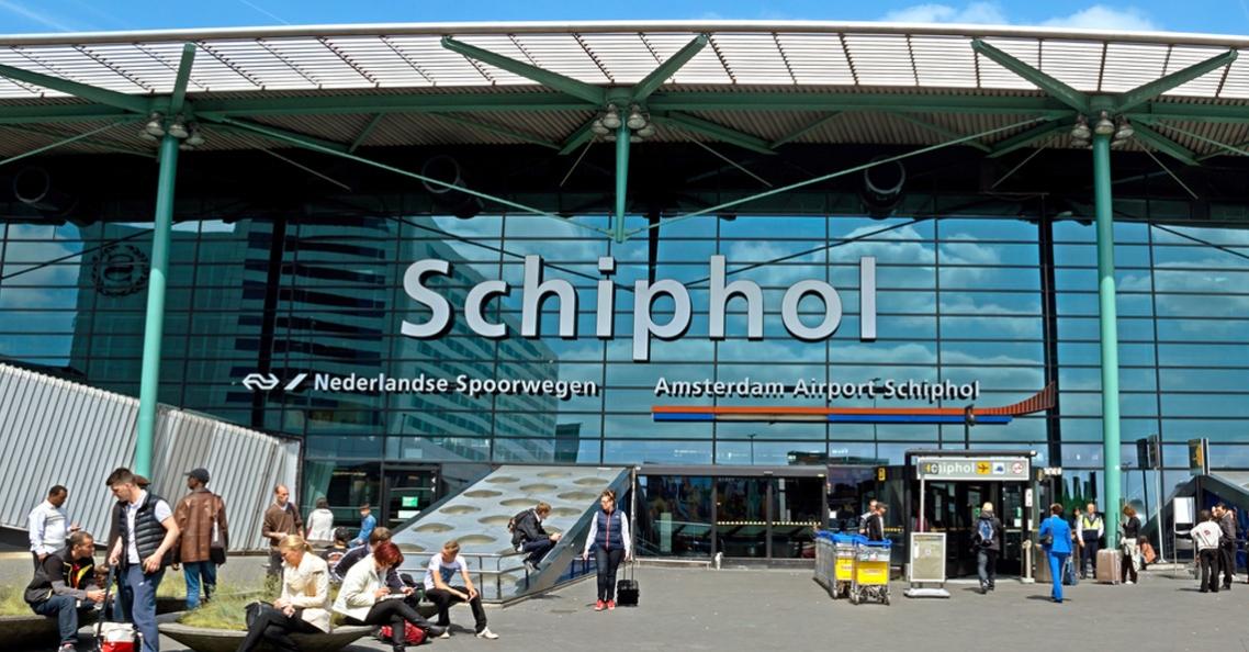 Dronevlieger bij Schiphol opgepakt