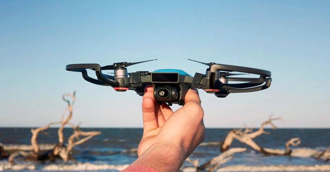 DJI verbetert camera functies Spark drone met nieuwe firmware update