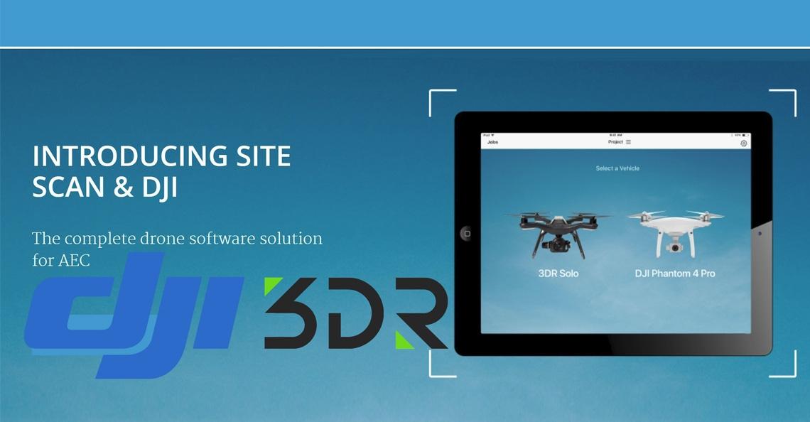 3DR stelt Site Scan software platform beschikbaar voor DJI drones