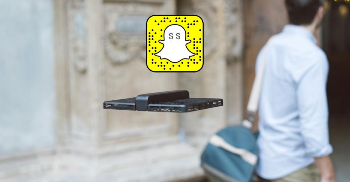 SnapChat geïnteresseerd in overname Zero Zero Robotics
