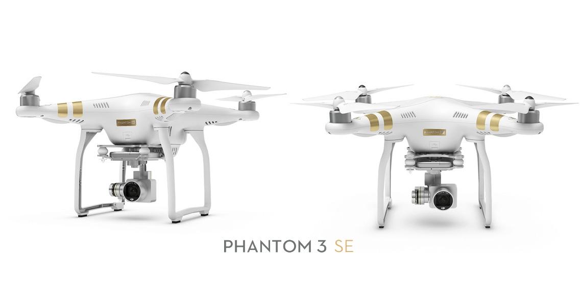 DJI Phantom 3 SE nu ook beschikbaar voor Europese markt