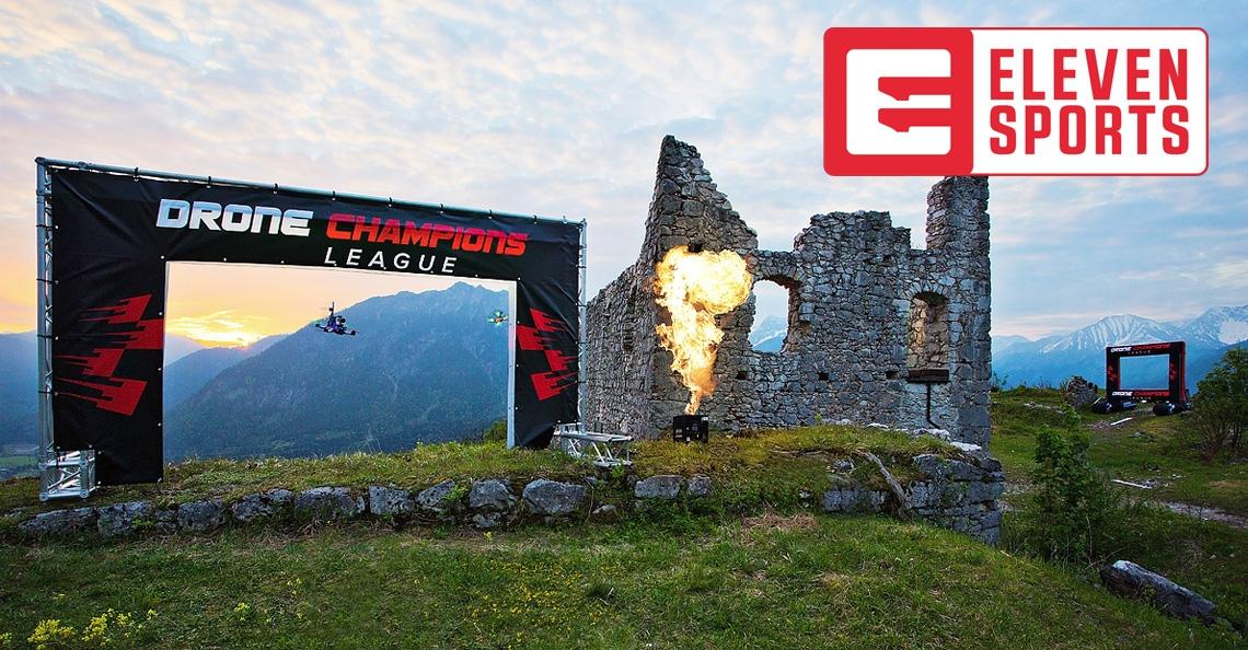 Vlaamse zender Eleven Sports gaat Drone Champions League uitzenden