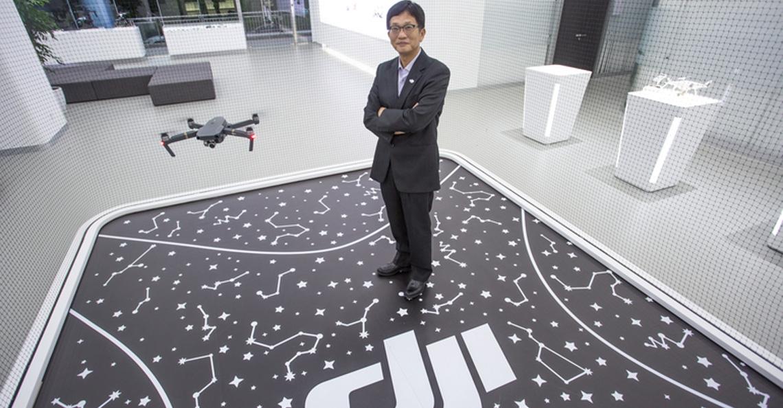 DJI stelt Roger Luo aan als nieuwe directeur