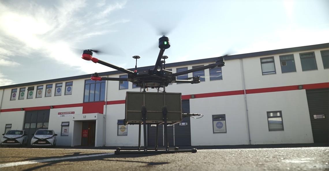 Reykjavik geeft toestemming voor bezorging met drone
