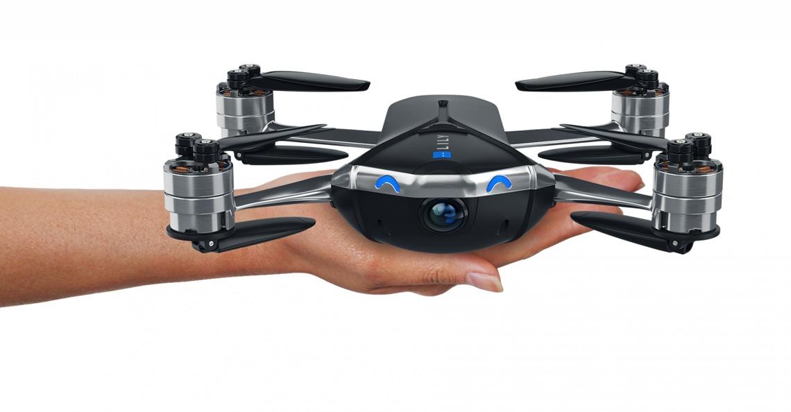 Mota Group presenteert 2017 versie van de Lily drone