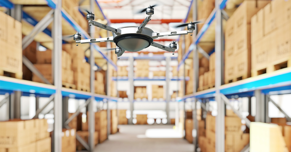MIT ontwikkelt drones voor inventarisatie magazijnvoorraad