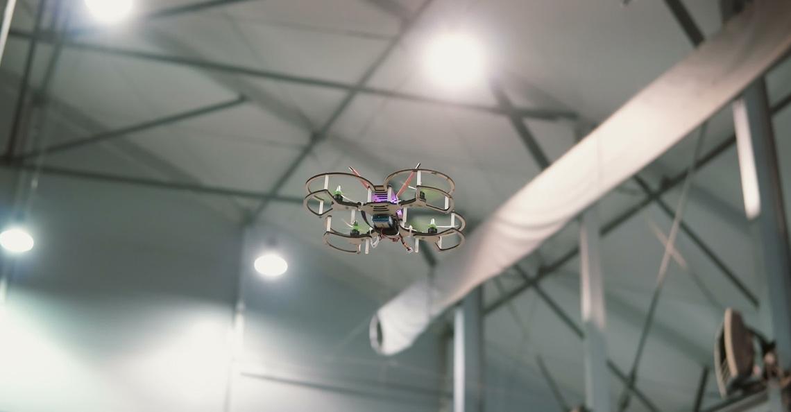 Indoorcentrum voor drones geopend in Brussel