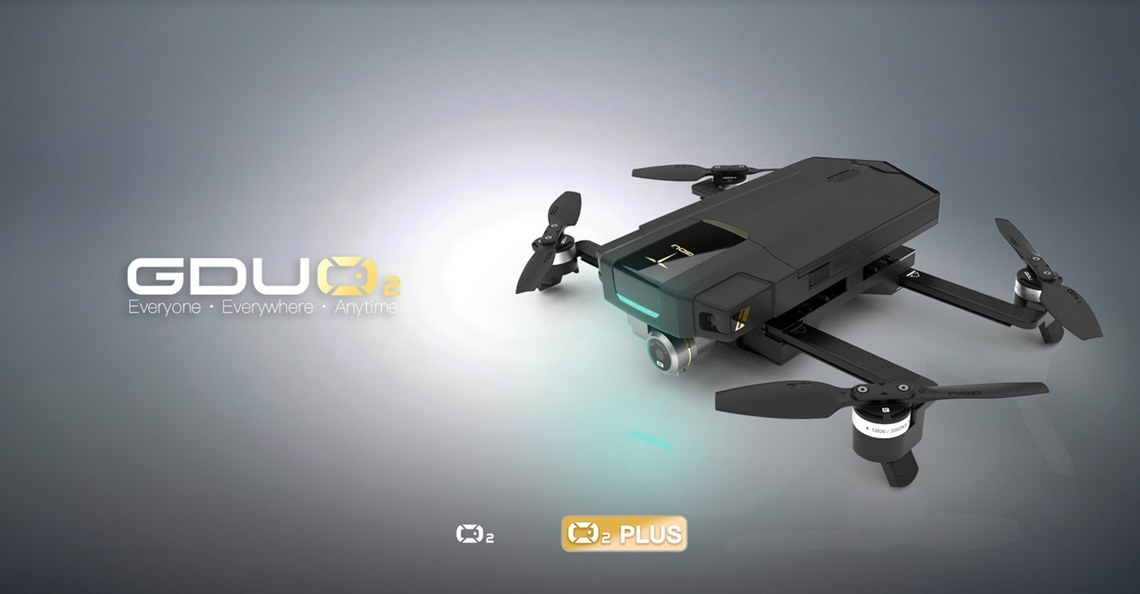 GDU Technology presenteert compacte GDU O2 Plus drone