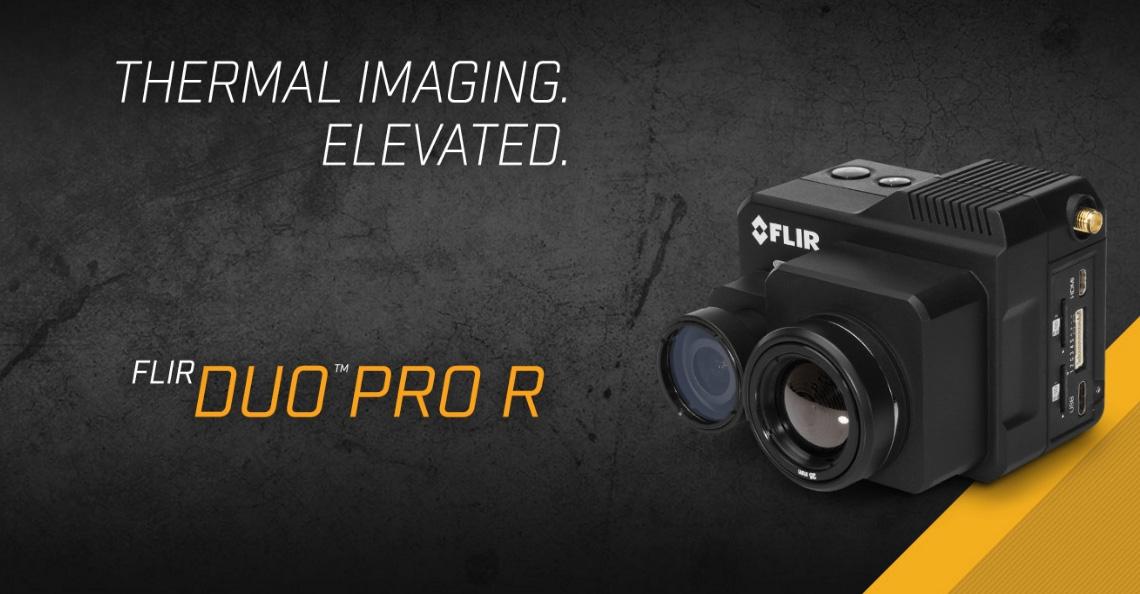 FLIR presenteert DUO Pro R multi spectrale camera
