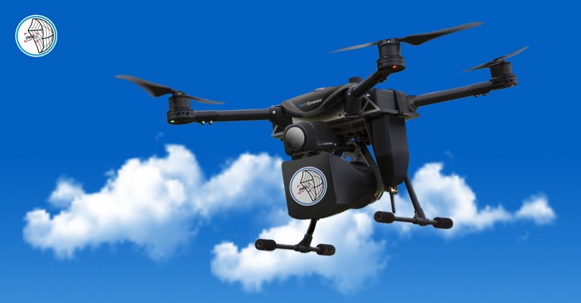 Delft Dynamics toont DroneCatcher op DSEI 2017