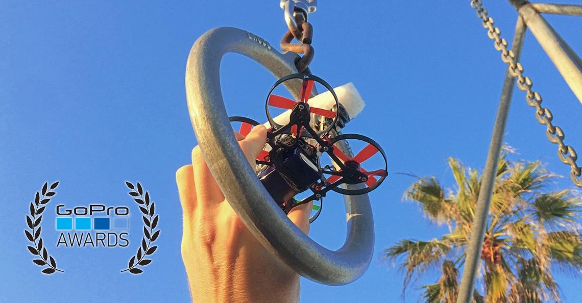 Kleine drone met HD camera wint GoPro prijs