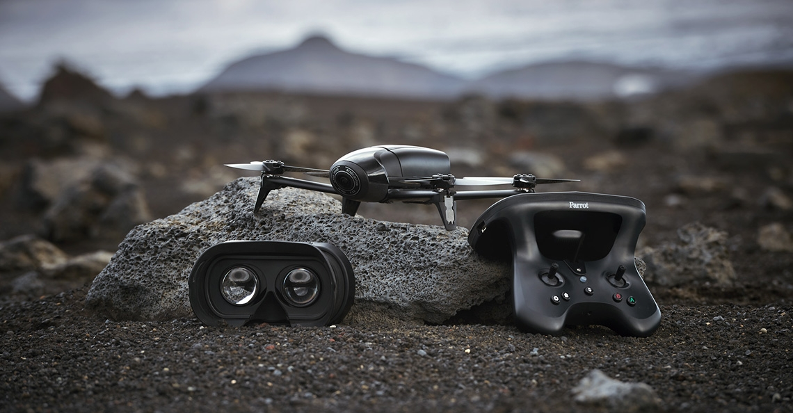 Parrot introduceert Bebop 2 Power drone
