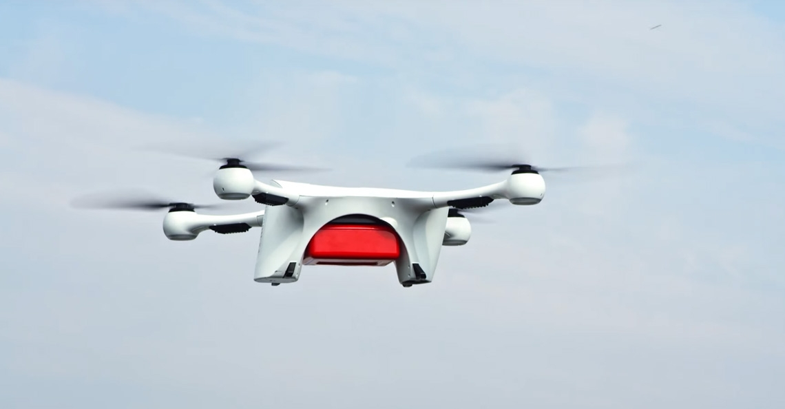 Matternet vervoert labresultaten tussen Zwitserse ziekenhuizen met drones