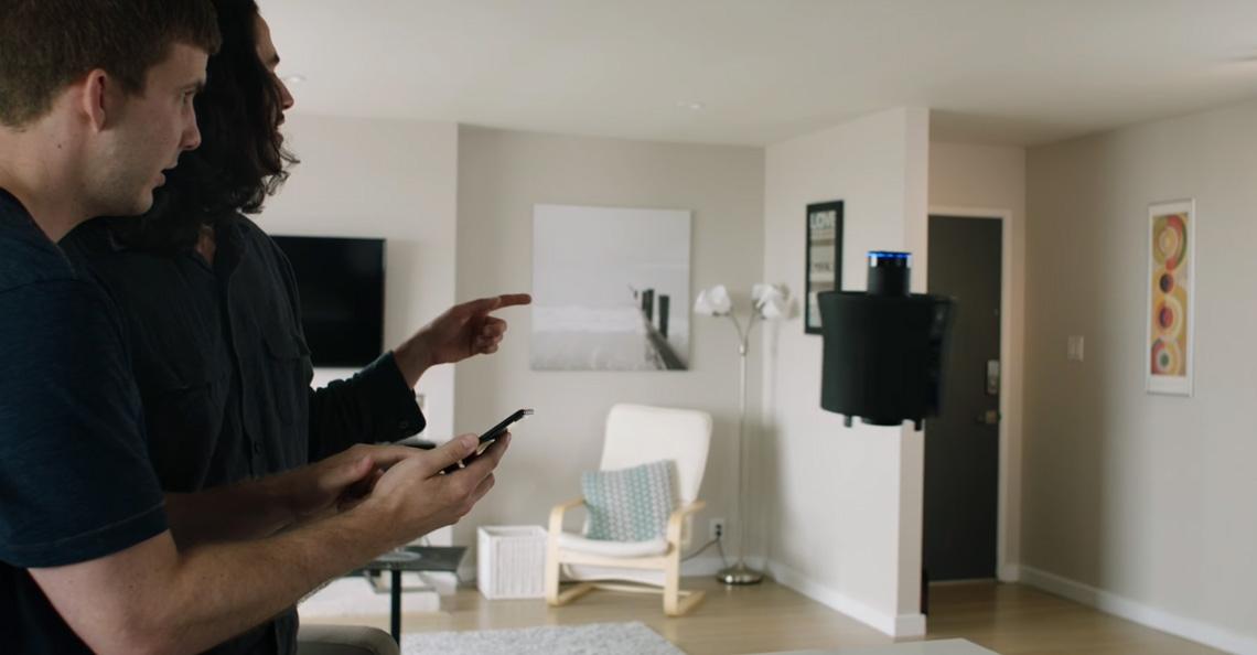 Aevena Aire drone is een zelfvliegende huisassistent