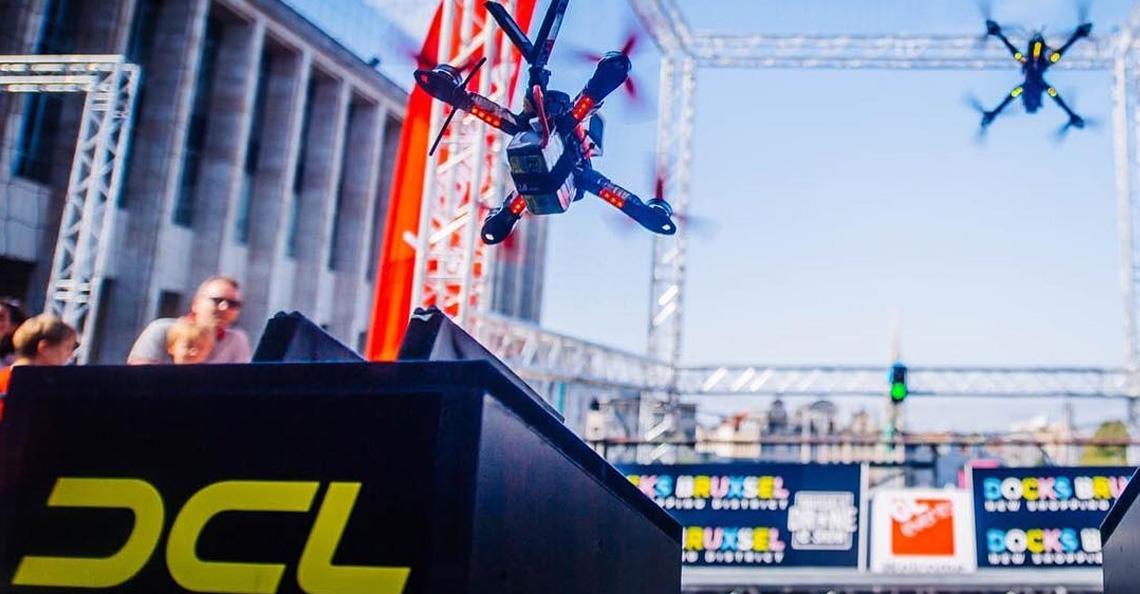 Drone Champions League in Brussel trekt 22.000 bezoekers
