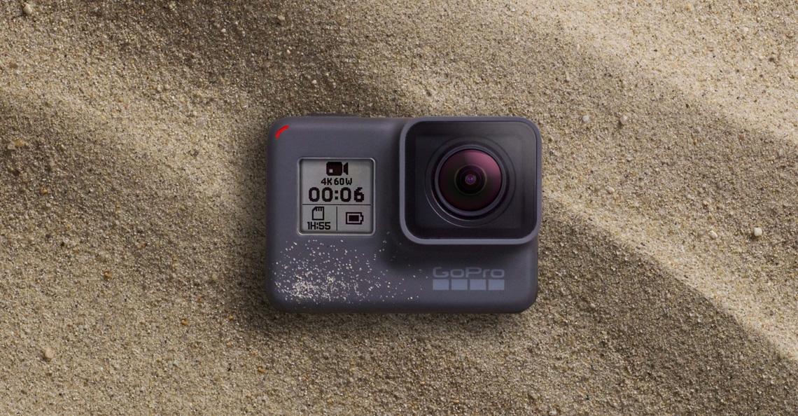 GoPro brengt nieuwe actiecamera's Hero 6 Black en Fusion uit