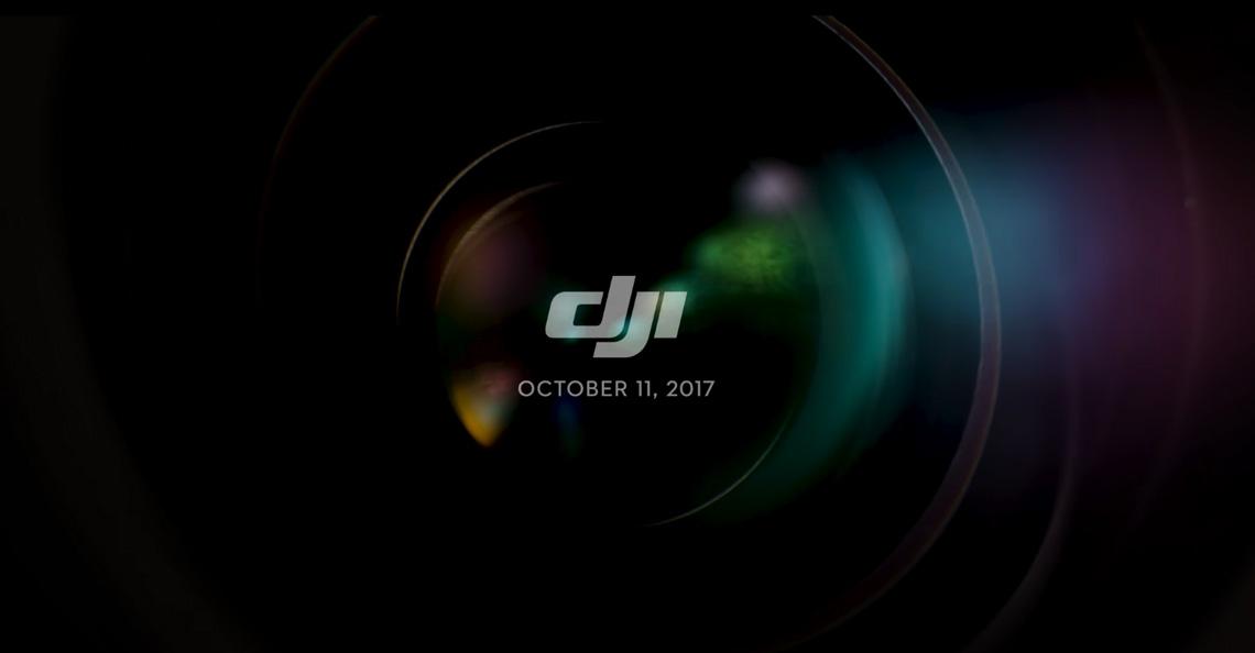 Wat presenteert DJI op 11 oktober 2017?