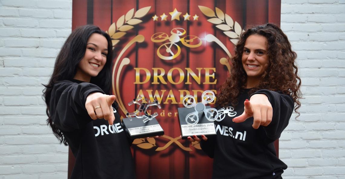 Zend nu je dronevideo in voor de Drone Awards 2017!