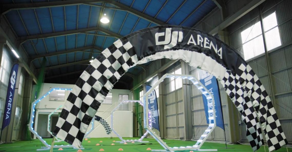 DJI opent eerste Drone Arena in Japan