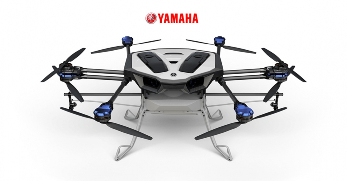Yamaha Motor introduceert agrarische spray drone