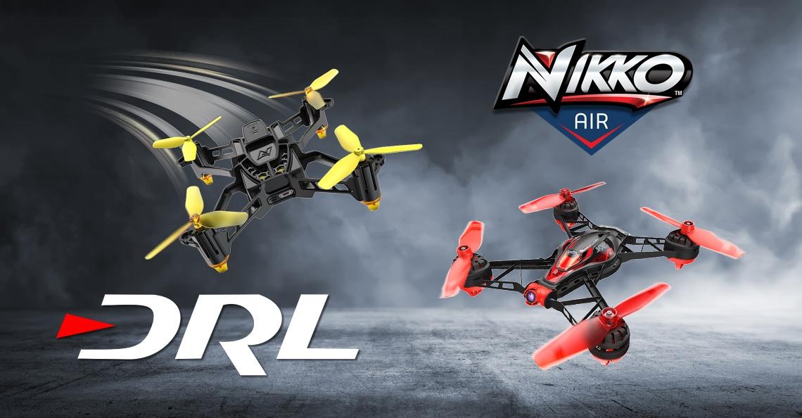 Nikko lanceert nieuwe lijn met DRL racingdrones