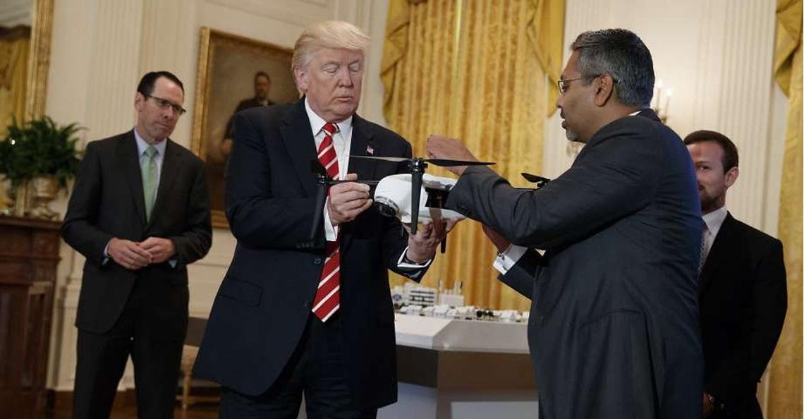 Trump tekent pilot programma voor tests met bezorgdrones