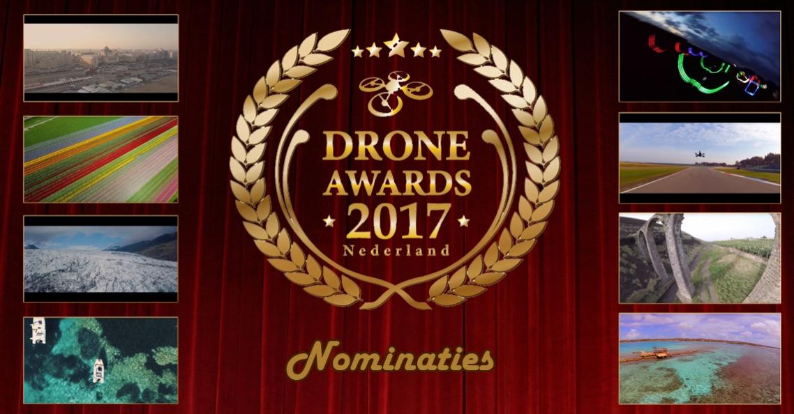 Nominaties voor Drone Awards 2017 zijn bekend!