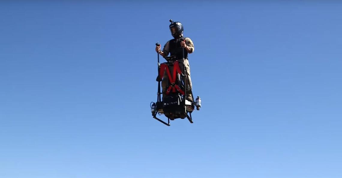 Zapata Racing ontwikkelt EZ Fly hoverboard met straalmotoren