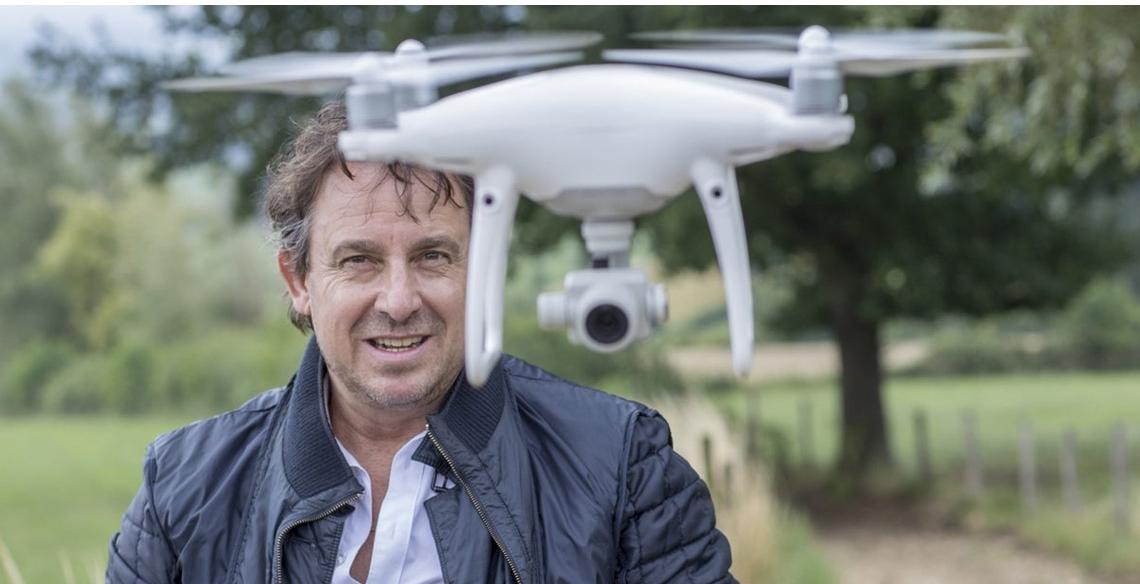 Nieuwe videoclip Marco Borsato gevuld met droneshots