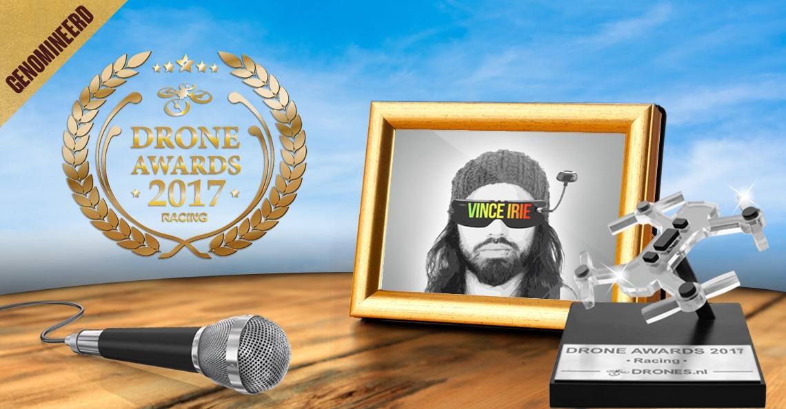 Vince Irie over zijn Drone Awards 2017 nominatie