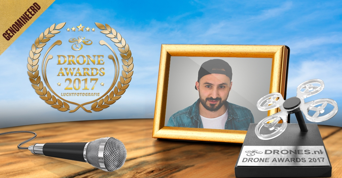 Semih Simsek over zijn Drone Awards 2017 nominatie