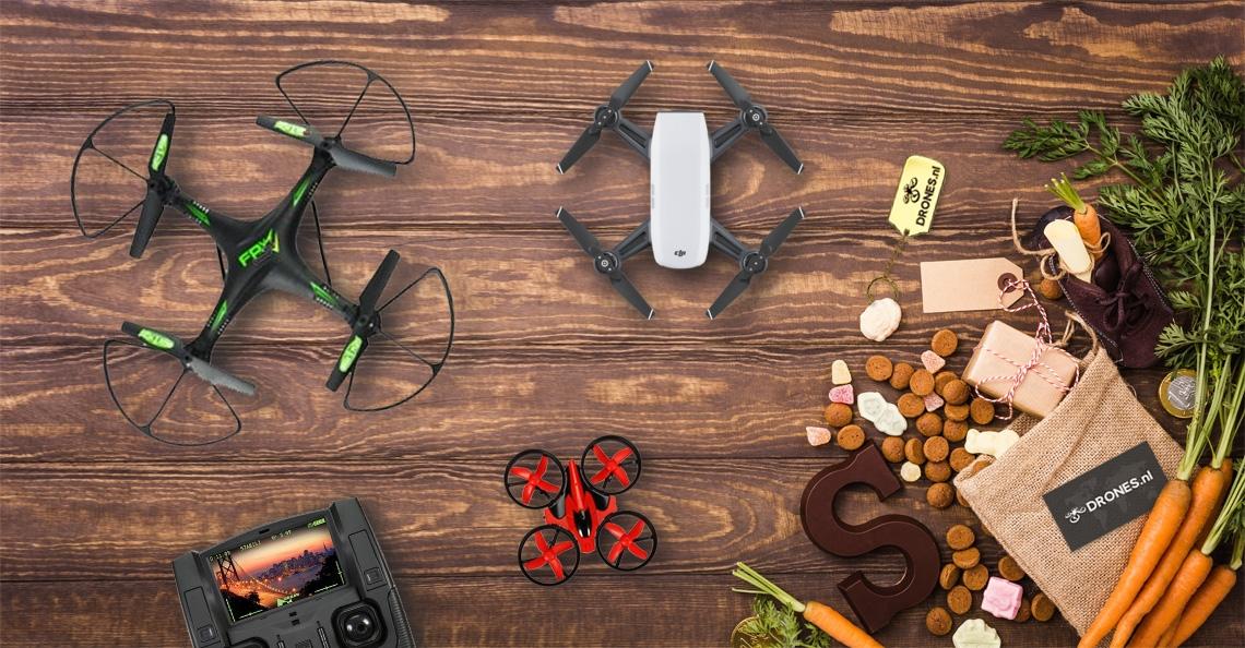 De 5 beste drones voor Sinterklaas 2017