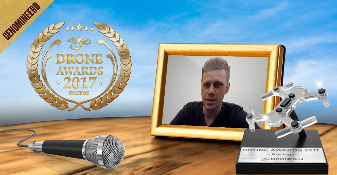Pieter Bos over zijn Drone Awards 2017 nominatie