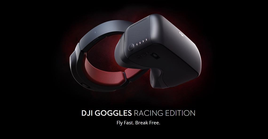 DJI brengt nieuwe Goggles Racing Edition videobril uit