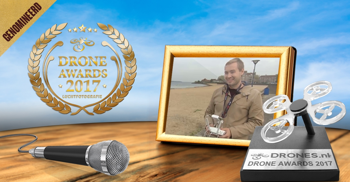 Roy Visser over zijn Drone Awards 2017 nominatie