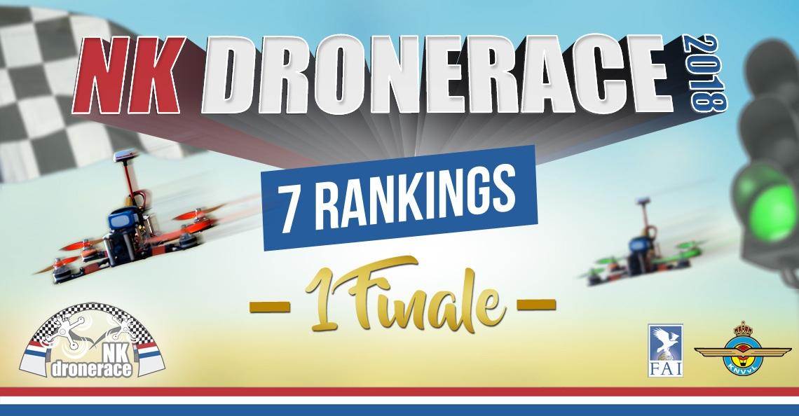 NK Drone Race heeft ontheffing voor seizoen 2018 binnen
