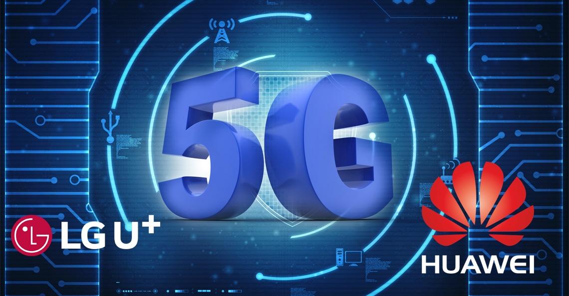 LG en Huawei testen 5G met drone