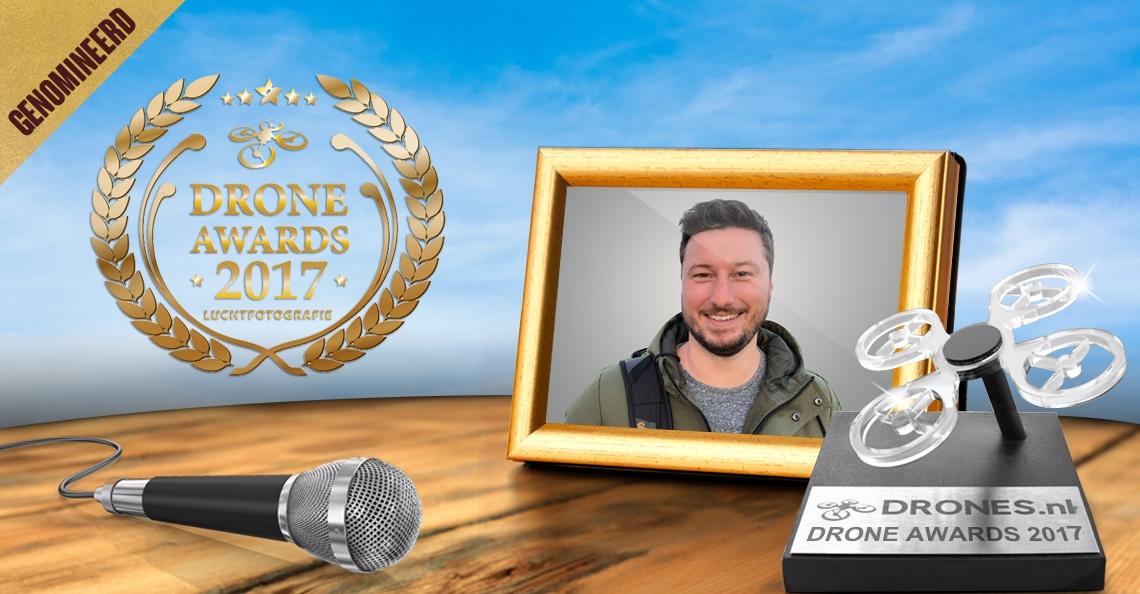 Droning Dutchman over zijn Drone Awards 2017 nominatie