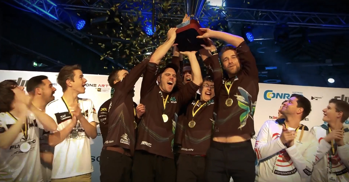 NEXXBlades Racing team wint Drone Champions League 2017
