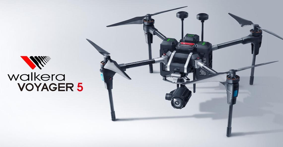Walkera lanceert professionele Voyager 5 drone