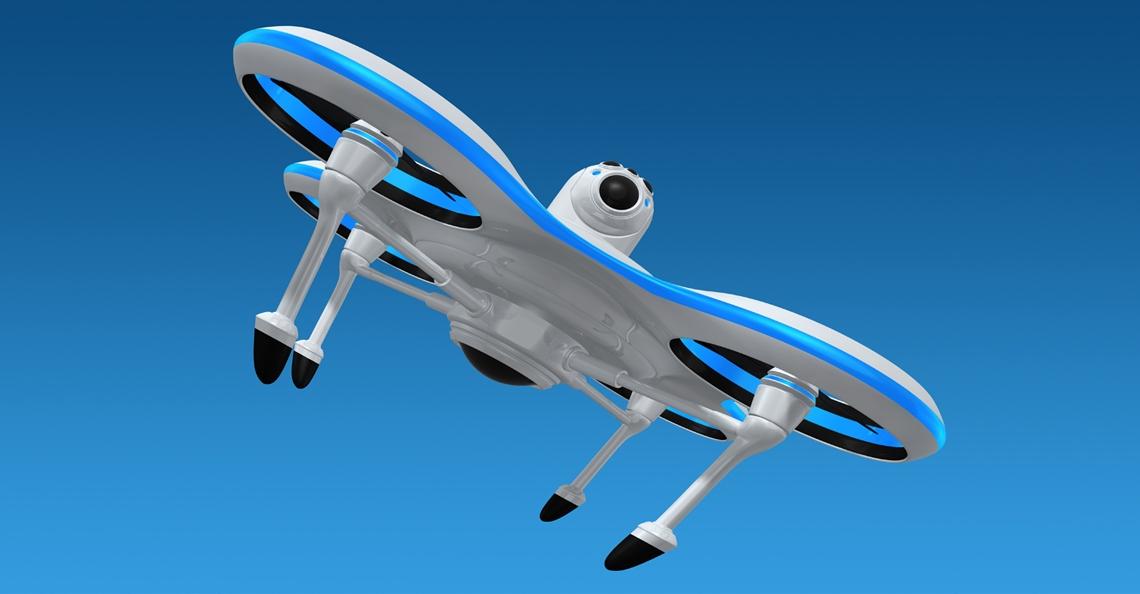 LG bemachtigt patent voor drone met innovatief landingsgestel