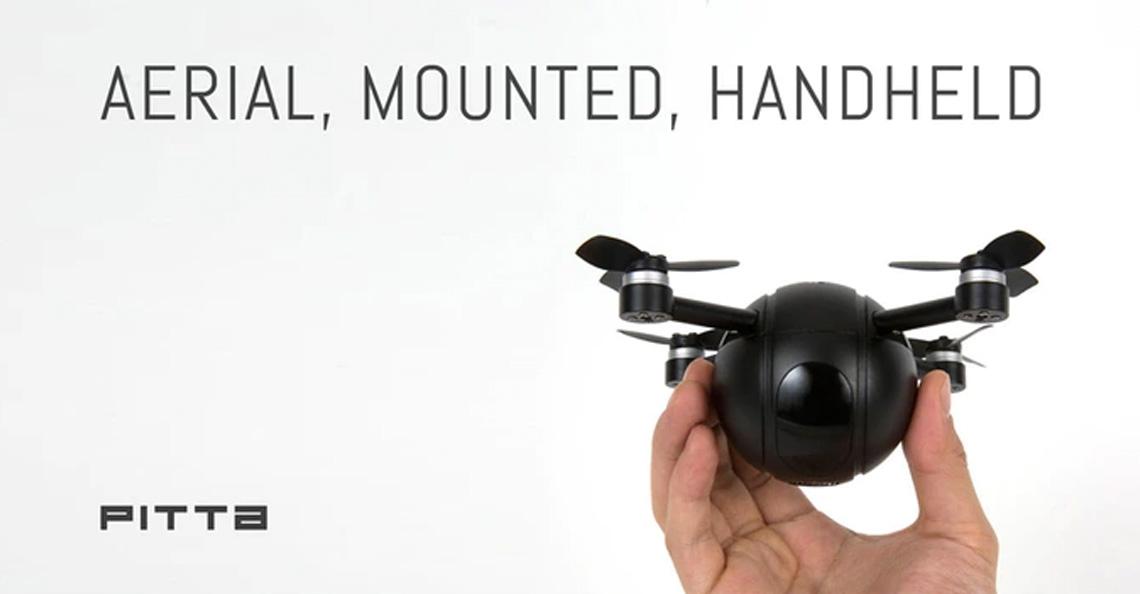 PITTA: drone, actiecamera en beveiligingscamera in één