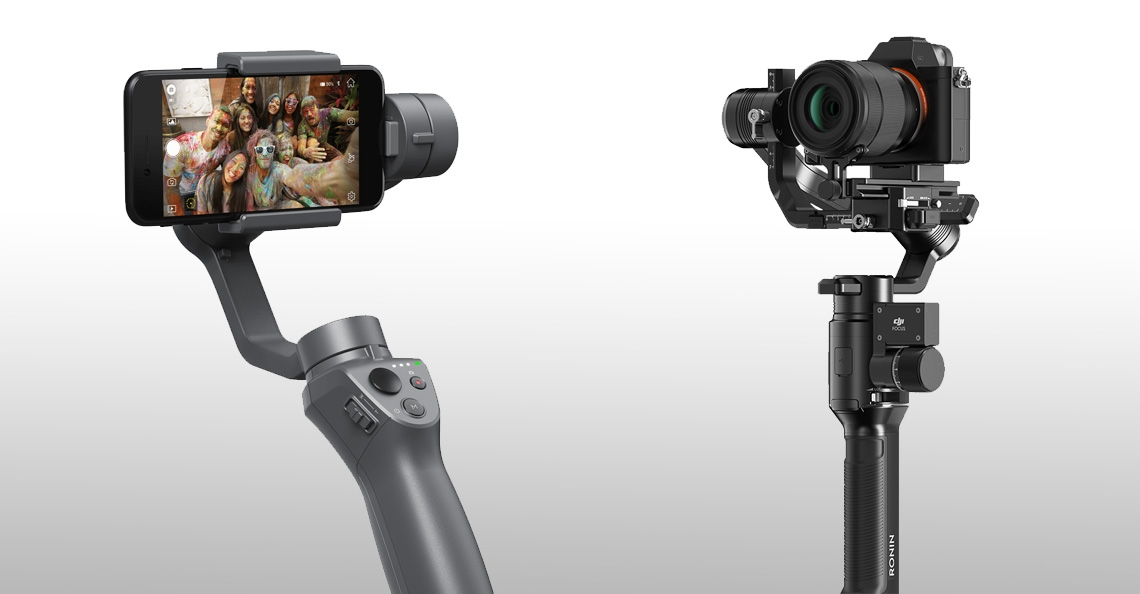 DJI onthult nieuwe Osmo Mobile 2 en Ronin S gimbal stabilisator