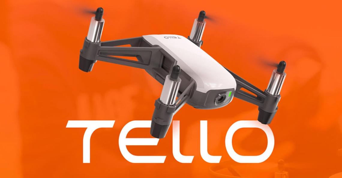 Ryze werkt samen met DJI en brengt goedkope Tello drone uit