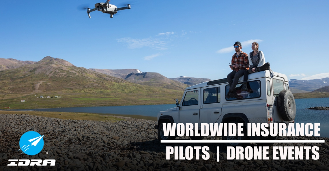 IDRA introduceert nieuwe verzekering voor dronepiloten met wereldwijde dekking