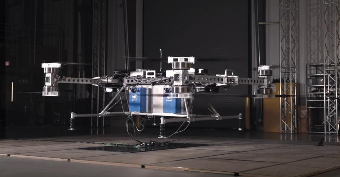Boeing ontwikkelt prototype drone voor vrachtvervoer