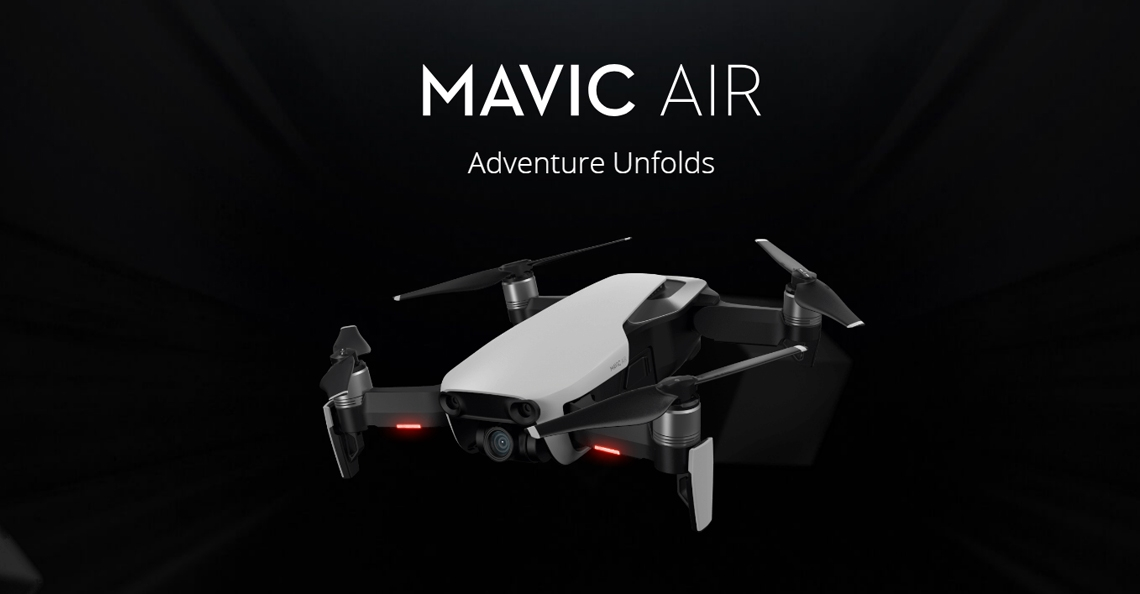 DJI presenteert Mavic Air drone