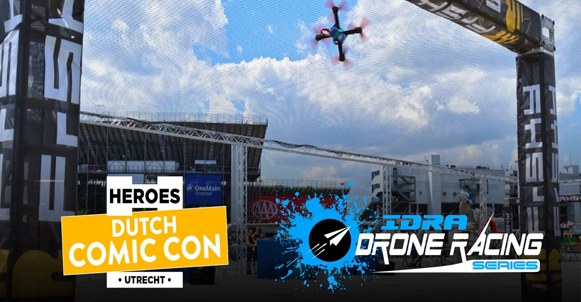 IDRA drone race 'Utrecht Internationals' tijdens Dutch Comic Con 2018